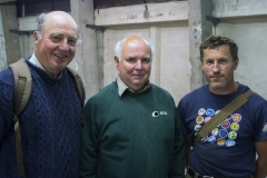 (L to R) John Bannister, Richard Denyer and Jeremy Gates